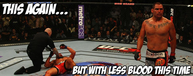 Cain Velasquez unifies the UFC heavyweight and lineal MMA titles (if you care about that kinda thing) with ease!