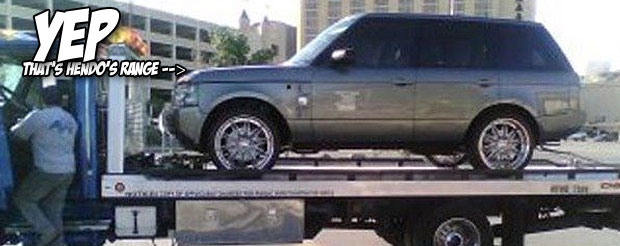 If you want to buy Dan Henderson's Range Rover he got after TUF 9, it'll only set you back $53,000
