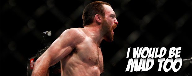 Pat Healy had to forfeit his $130,000 bonus because he tested positive for marijuana at UFC 159
