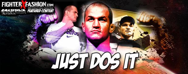 Check out Junior dos Santos' official UFC 160 walkout shirt made by Nike