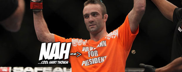 Jacob Volkman is on a mission to 'expose' the UFC, and this is what he said...