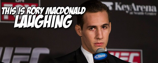 Let's watch the animated Rory MacDonald get revenge on Nick Diaz