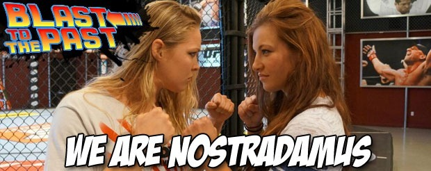 Blast to the Past: Ronda Rousey tells us what TUF would be like if Miesha Tate was the coach
