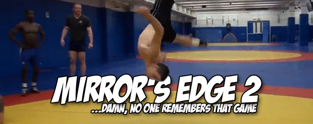 You will not stop watching these Olympic wrestlers do an endless amount of back flips