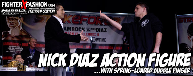 Check out the Round 5 Nick Diaz Ultimate Collector 13 Figure