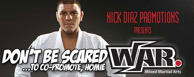 Here's everything you need to know about Nick Diaz's new 'War MMA' promotion