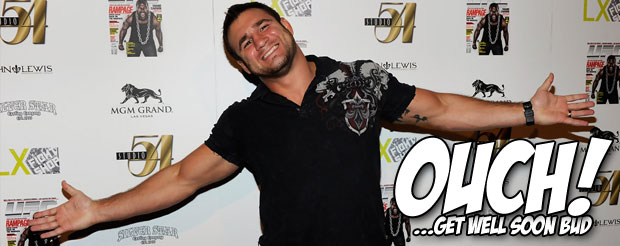 Phil Baroni broke his ankle at ONE FC this morning, and watching it will make you reel in horror
