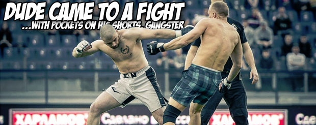 Russia had their first Street Fight Championship inside of a football stadium, and it was friggin' amazing