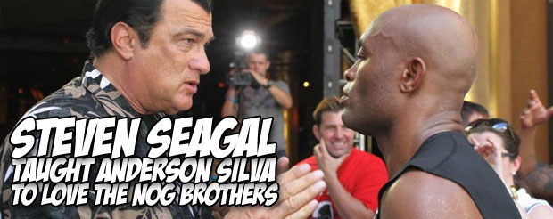 Anderson Silva talks about how he nearly left MMA after Pride FC back in 2003