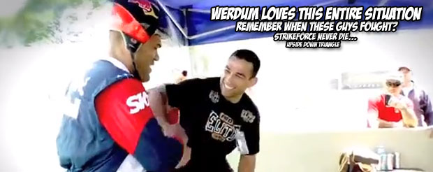 The most important part of this video is seeing how large Bigfoot Silva's head is when placed in a normal-sized helmet