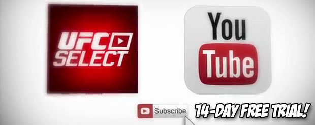 The UFC rolled out their paid subscription YouTube service, and it looks pretty awesome