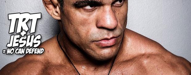 Vitor Belfort spinning heel kicked Luke Rockhold into an alternate dimension at UFC on FX 8