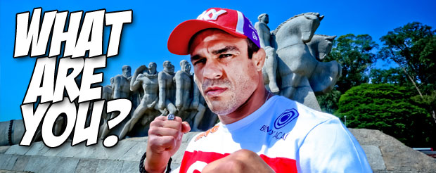 In an attempt to confuse all zoologists, Vitor Belfort says he's a 'T-Rex in a new jungle'