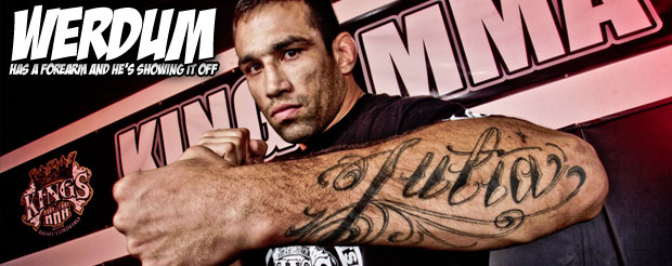 Fabricio Werdum wants to personally invite you to watch him fight Big Nog