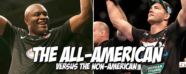 Stop using your brain and let your favorite fighters tell you who's going to win between Anderson Silva vs. Chris Weidman