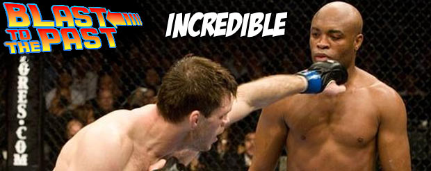 Blast to the Past: Anderson Silva adds a chunk of highlights to his reel against Forrest Griffin