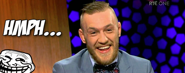 Conor McGregor says when he's 30, he'll 'be considered in the same light as Anderson Silva'