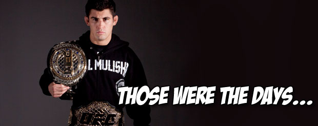 Is it just us or does Dominick Cruz's surgically repaired leg seem incredibly small?