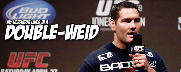 Chris Weidman is already looking past Anderson Silva, and he'll fight whoever you want him to