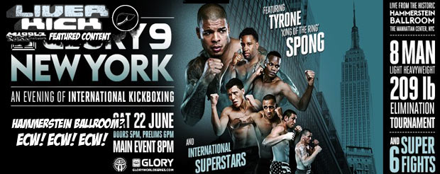 LiverKick | Glory 9 updates and results