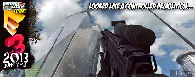 A closer look at today's E3 Battlefield 4 videos