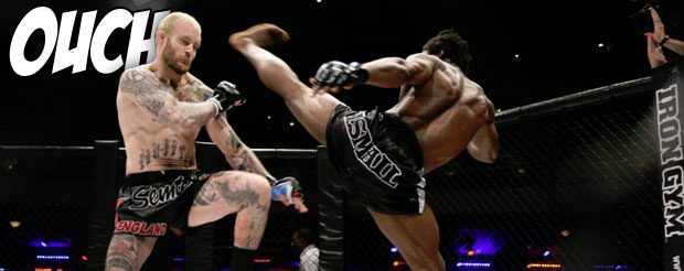 If you're into spectacular kicks, Galore Bofando has a 1st round KO from UCMMA 28 he would like to show you…
