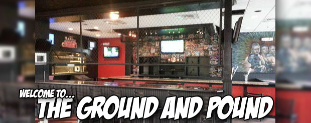 Check out the menu for the world's first MMA themed restaurant