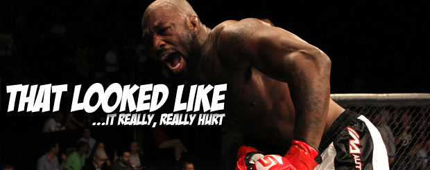 King Mo launched a nuclear device directly on Seth Petruzzeli's chin at Bellator 96