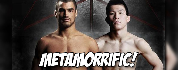 Shinya Aoki vs. Kron Gracie just wrapped up at Metamoris II and this is how it ended…