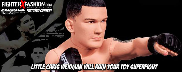 FighterXFashion | Can Lil' Chris Weidman defeat Lil' Anderson Silva?