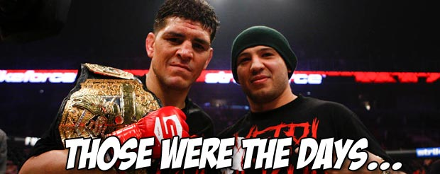 Check out an intimate look inside Nick Diaz's War MMA, complete with fiery bong rips