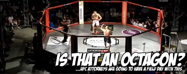 Polish MMA fighter shows what happens when you actually defend yourself at all times