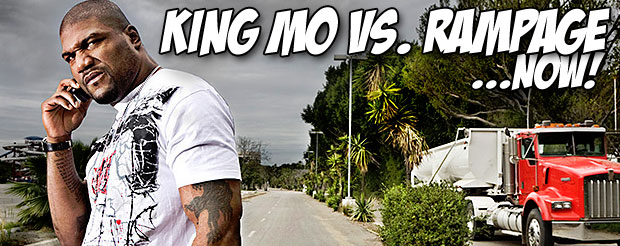 Rampage Jackson has been signed to Bellator, which means we're closer to FINALLY seeing King Mo vs. Rampage