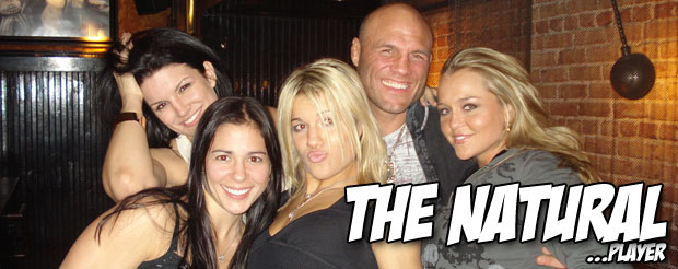 No one wants to fist bump Randy Couture, and that makes us sad