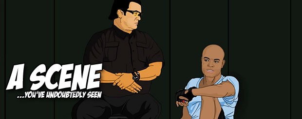 If you wanted to watch a cartoon about Anderson Silva, today is your lucky day