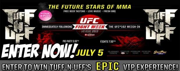 Enter to win TUFF-N-UFF's EPIC VIP Experience!