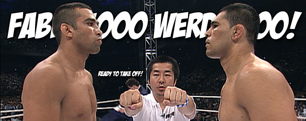 Before you see them this weekend, watch the FIRST Werdum vs. Big Nog fight from Pride FC