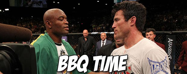 Chael Sonnen interviewing Anderson Silva wasn't awkward at all, actually
