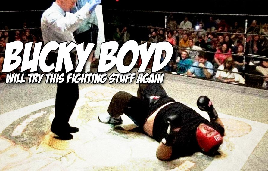 Oh wow, Bucky Boyd is BACK and he wants to eat you in the ring