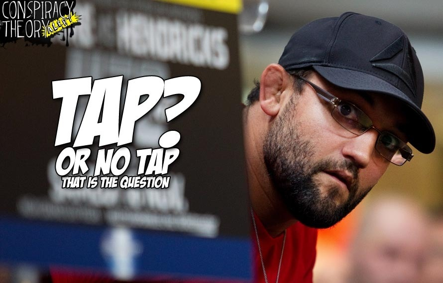 Conspiracy Theory Alert: Did Johny Hendricks tap to GSP at UFC 167?