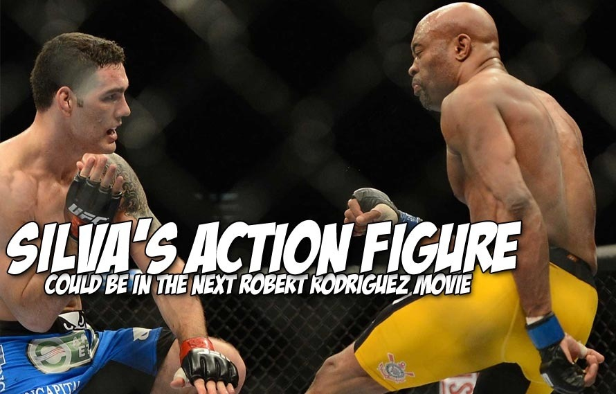 Oh no, check out the new Anderson Silva 2.0 action figure…