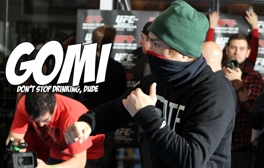 Say it ain't so, Takanori Gomi says he will stop drinking if he gets a title shot