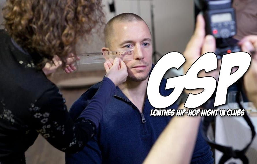 Georges St. Pierre loves hip-hop, hated being a bouncer in a hip-hop club