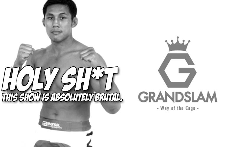 Grandslam MMA Was a Smorgasbord of Brutality and Hilarity