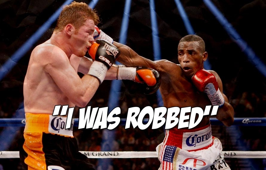 Erislandy Lara Lost to Canelo Last Night and Even This Reporter Was Talking **** to His Face