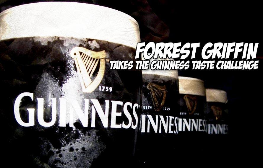 WHOATV – We give Forrest Griffin the Guinness Taste Challenge in Dublin