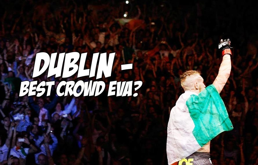 If you missed Dublin losing their minds over Conor McGregor's win, watch it here