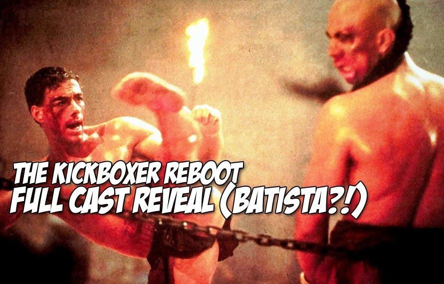 LiverKick – Full Cast Revealed for Reboot of The Kickboxer