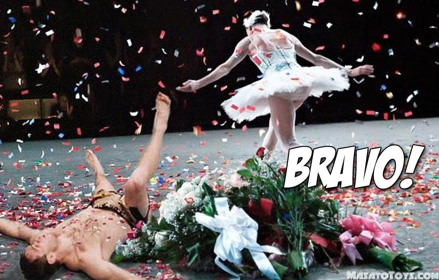This is What it Looks Like When Ballerinas KO UFC Fighters