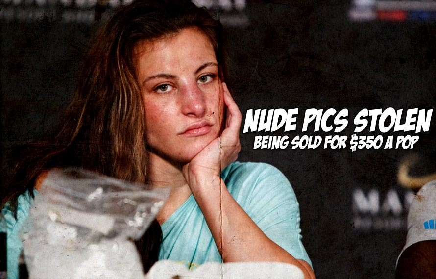 Supposedly a hacker is selling Miesha Tate nude pics for $350 each